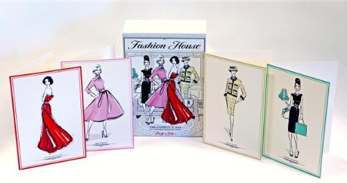 Fashion House Boxed Notecards: 16 Notecards (Stationery) by Megan Hess (2013) Cards