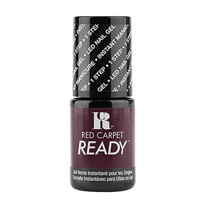 ボット食い違い最終的にRed Carpet Manicure - One Step LED Gel Polish - Raunchy Rumor - 0.17oz / 5ml