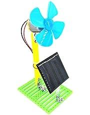 non-brand Modelo de Ventilador de Circuito Eléctrico Físico Accionado por Energía Solar Juguete de Experimento Científico para Niños