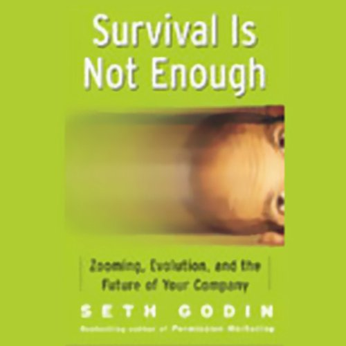 Survival Is Not Enough audiobook cover art