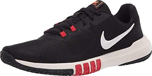 Nike Men's Flex Control TR4 Cross Trainer, Black/Solar-University RED-Total Orange-Pale Ivory, 12 Regular US