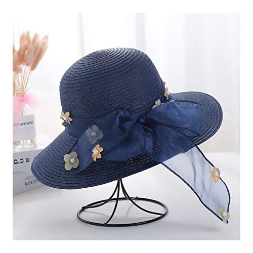 XGG meisjes zonnebloem stro hoeden thee partij hoeden meisjes stro hoed voor kinderen kostuum Pasen prinses peuter kinderen verjaardag benodigdheden