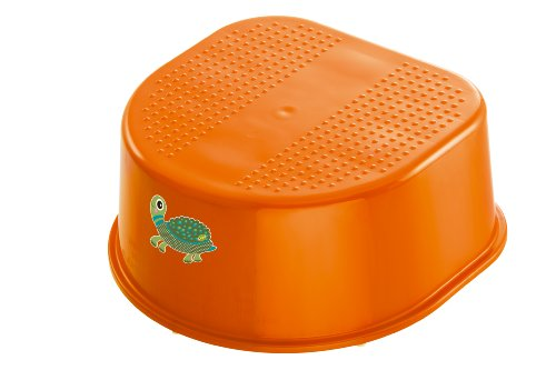 Rotho Babydesign Marche-Pied - Gamme Oops - Mandarine Tortue