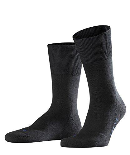 FALKE 3 Paar Run SO Socken 16605 Sportliche Allro&-Socke UNISEX, Farbe:Black, Socken und Strümpfe:44-45