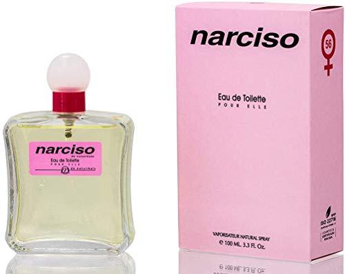 PROFUMO DONNA EQUIVALENTE E COMPATIBILE | Fragranza Narciso de Naturmais | Eau De Toilette 100ml (NARCISO)