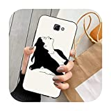 Happy-horse Funny Abstract Art Lines Fashion Phone Case for Samsung J4 Plus J2prime J5 J6 Plus 2016...