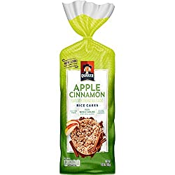 Quaker Rice Cakes, Apple Cinnamon, 6.54 oz