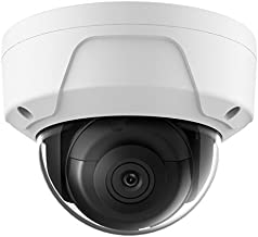 6MP PoE Security IP Camera - Compatible with Hikvision Performance Series DS-2CD2165G0-I Dome EXIR Night Vision 2.8mm Fixed Lens H.265+ 3 Year Warranty