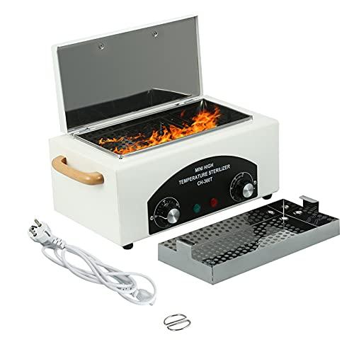 Heißluftsterilisator, Autoklav Sterilisator, Hochtemperatur Sterilisation Maschinen mit Timer-Werkzeugen Hitze Sterilisator für Edelstahlwerkzeuge im Schönheitssalon
