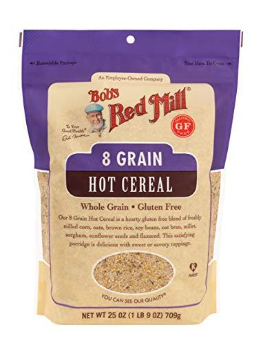 Bob's Red Mill Gluten Free 8 Grain Hot Cereal, 25 Oz