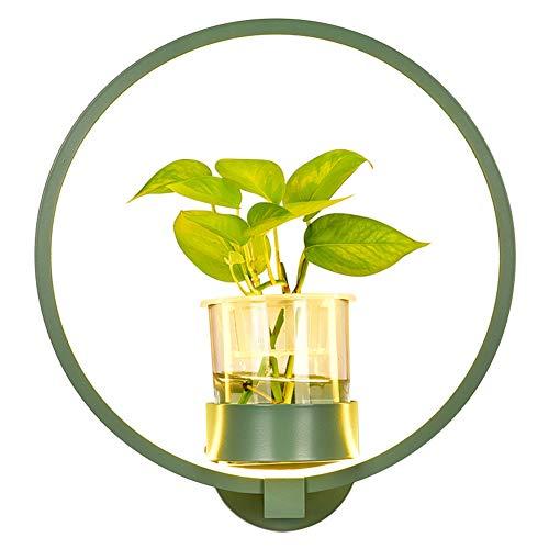 Eleyho Led-wandlamp, 3 modi en vaas voor het plafond, woonkamer, slaapkamer, club decoratie (installatie niet inbegrepen)