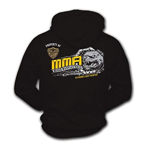 Dirty Ray Kampfsport MMA Extreme Cage Fighter Herren Kapuzenpullover B57 (L)