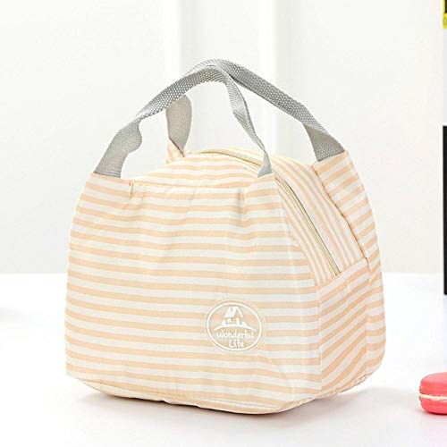 Cold Insulation Bag Thickening Peach Skinny Lunch Bag Ice Bag Student Portable Waterproof Lunch Box Bag, 8, Verenigde Staten