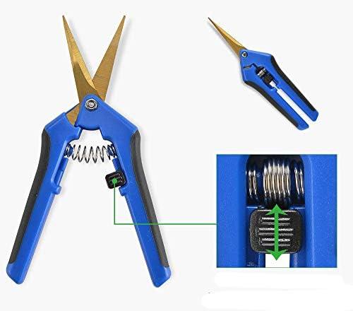 HONGVILLE Gardening Hand Professional Tip Trimming Scissors Pruner Pruning Shear