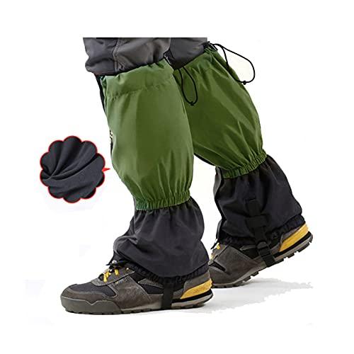 Yingbao Otoño E Invierno Adulto Más Terciopelo Botas De Nieve Cálida Al Aire Libre a Prueba De Agua Leggings Ajustables, Esquí Desierto Selva Senderismo De Montaña Zapatos De Nieve