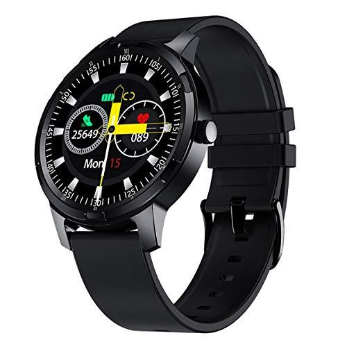 LIDOFIGO Reloj Inteligente Smartwatch IP67 Impermeable Pantalla Táctil Actividad Inteligente Reloj de...