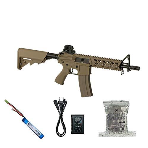 G & G Armament Set !!! Softair - Gewehr - G & G M4 CM16 Raider - AB 14, Unter 0,5 Joule Desert