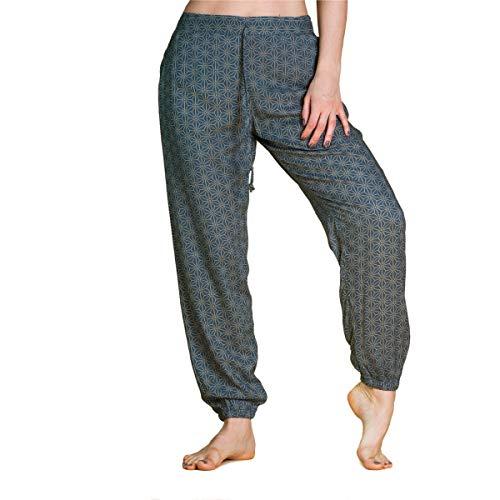 PANASIAM CM2 Relaxed Pants Geometric Style 01_Asanoha Petrol M