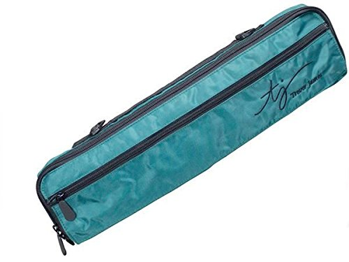 Trevor James: Fleece Lined Flute Case Cover (Dark Green). Für Querflöte