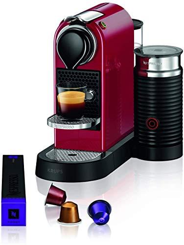 Krups XN7615 Nespresso, Macchina per Espresso in Capsule, 1 Tazza, Rosso