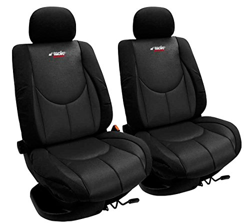 Simoni Racing CSR/AN-V Front Universal Cover Seat, Type A, Schwarz