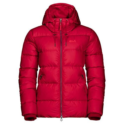 Jack Wolfskin Damen Crystal Palace Jacke, ruby red, M, 1204911