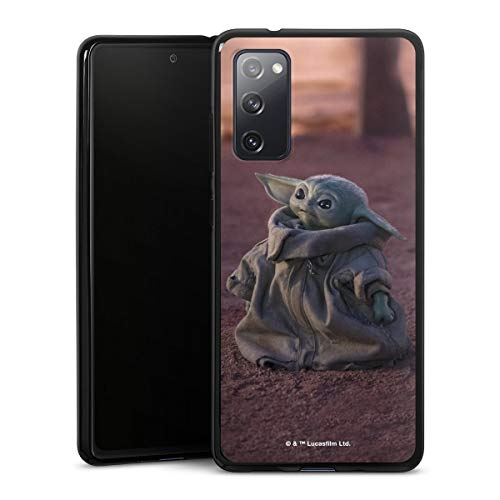 DeinDesign Silikon Hülle kompatibel mit Samsung Galaxy S20 FE Hülle schwarz Handyhülle Star Wars The Child Baby Yoda