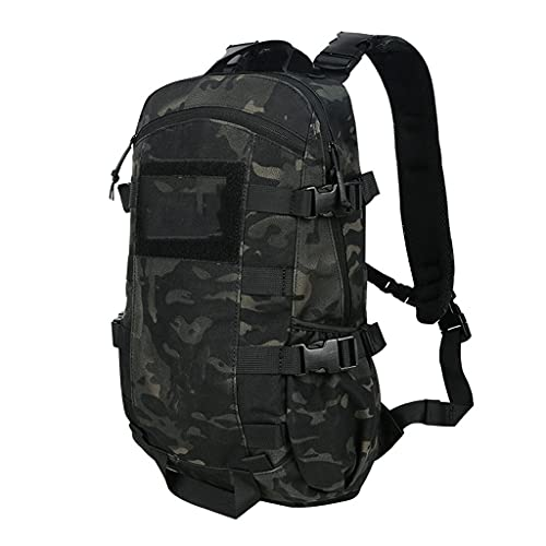 ZWW Lightweight Packable Durable Travel Hiking Backpack,Men Travel Backpack Mountaineering Traveling Camping Backpack (Color : Tactical Night)