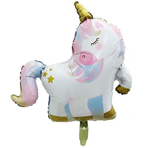 DWWW Nieuwste Grote Eenhoorn Regenboog folie Helium Ballon Pomp Inflator Verjaardag Party Decor .Che
