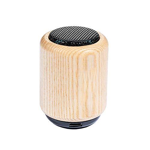 Retro Portable Holz Wireless 4,0 Bluetooth-Lautsprecher Mit Lauter Stereo 3 Stunden Playback-Zeit 33 Fuß Bluetooth-Bereich Eingebautes Mikrofon Für Perfekte Tragbare Drahtlose Lautsprecher Wie Iphone