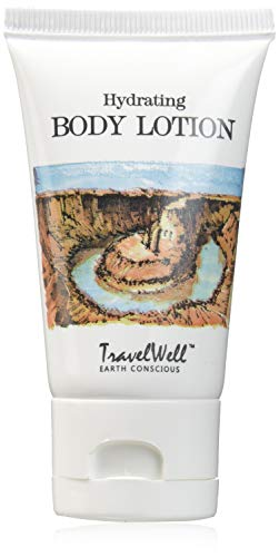 TRAVELWELL Landscape Series Hotel Toiletries Amenities Travel Size Guest Body Lotion 1.0 Fl Oz/30ml, Individually Wrapped 50 Tubes per Box