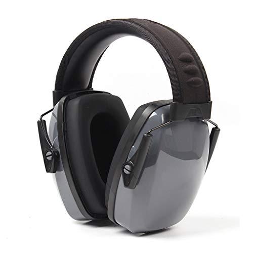 QTT ruisonderdrukkende koptelefoon, op het hoofd gemonteerde geluidsdichte oordopjes ruisonderdrukkingsgeluiddichte oorbeschermers slaapkoptelefoon