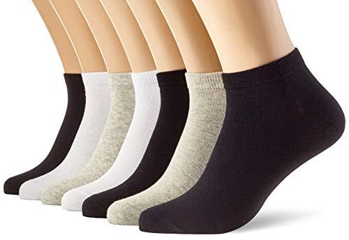 JACK und JONES Herren JACBIRD Spring Short 7 Pack Socken, Light Grey Melange, ONE Size