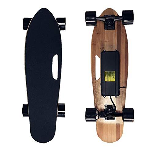 FGKING E-Skateboard, Elektro-Skateboard, Elektro Longboard, Motor Skateboard, Max 18 KM/H, sanftes Bremsen und...