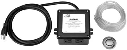 Jaclo 2834-PCU Waste Disposal Air Switch Polis Charlotte Mall Copper Max 48% OFF Polished