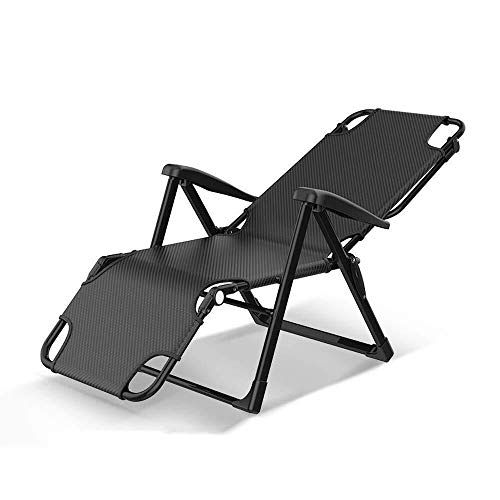WEI-LUONG Folding Conference Chair Folding Chairs Chaise Lounge Recliner Folding Chair Lunch Break Single Office Nap Bed Simple Portable Hospital Accompanying Bed By The Cool Chair