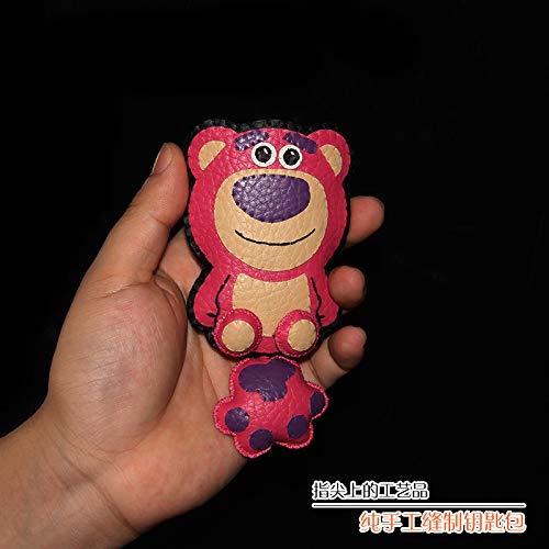 RAP Auto sleutelkast auto sleutelkast auto universele sleutelkast voor vrouwelijke [Bear knuffel sleutelkast]