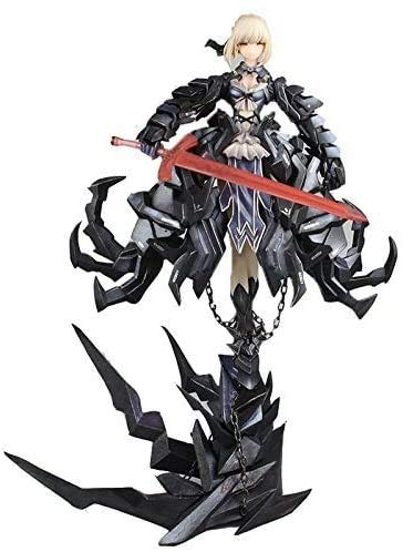 Xuping Modell Spielzeug -Fate/Aufenthalt Nacht Action-Figur Gsc Fate Schwarz Saber Alter Huke Metal Gear Illustrator Ver 13inch- Kinder Geburtstags-Geschenk-Sammlungs-Start-Auto-Dekoration