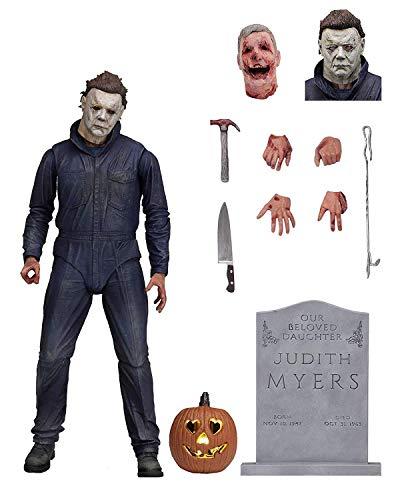 NECA- Halloween Figura Ultimate Michael Myers, Multicolor (NECA60687)