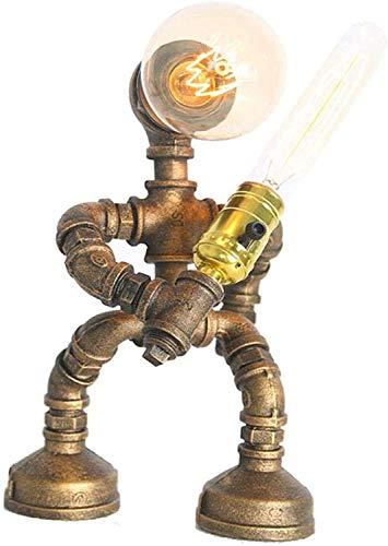 Desktop Light Victoria Lámparas de Robot Industrial Lámpara de Escritorio Steampunk Lámpara de Mesa Antigua Mesa Antigua Lámpara de Agua Retro Tubería Nostálgica Arte Nostalgic Lámparas de Escritorio