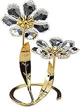 Crystal Asfour 2/406 Crystal Flower Decor - Transparent