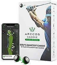 Arccos Caddie Smart Sensors Featuring Golf's First-Ever A.I. Powered GPS Rangefinder (3rd Generation)