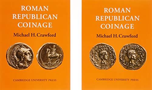 Roman Republican Coinage 2 Volume Paperback Set