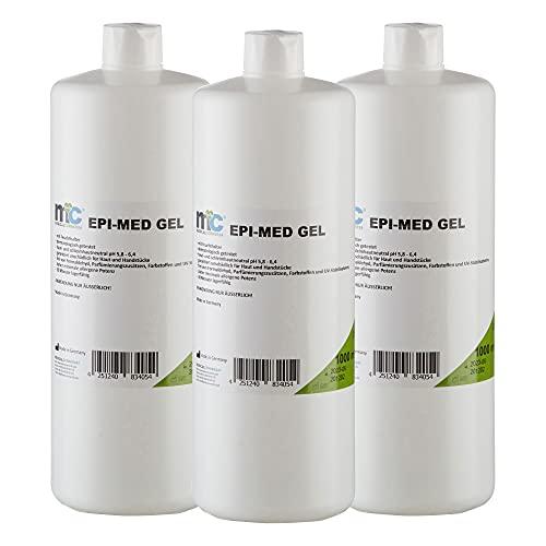 3 x 1 Liter Epi-Med Kontaktgel für IPL Behandlung