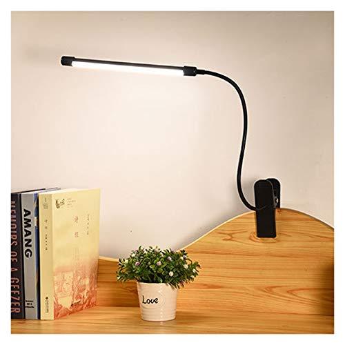 YINGBBH Lámpara de Escritorio Lámpara de Escritorio de la lámpara de Noche de la Pinza