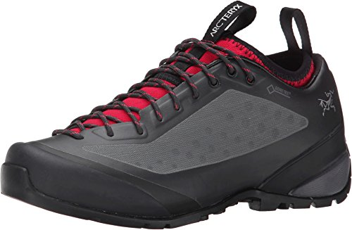 Arc'teryx Acrux FL GTX Approach Shoe - Women's Graphite/Orchid 7