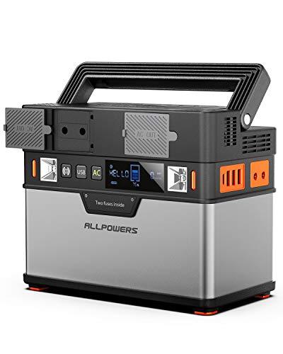 ALLPOWERS Generador portátil 372Wh 220V generador