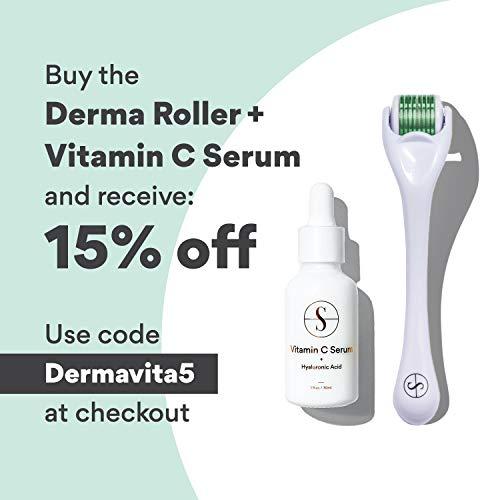 Sdara Derma Roller Kit for Face & Body Skin Care