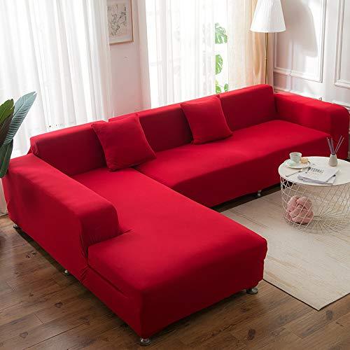 Funda elástica para sofá de poliéster de una sola pieza para sofá de 57 a 72 pulgadas