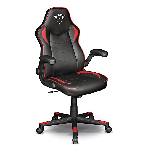 Trust Gaming GXT 704 Ravy Silla para Gaming, PU Leather,...